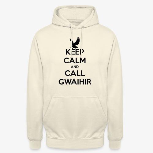 Keep Calm And Call Gwaihir - Unisex Hoodie