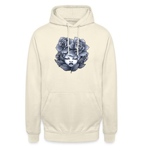 Flower Head - Sweat-shirt à capuche unisexe