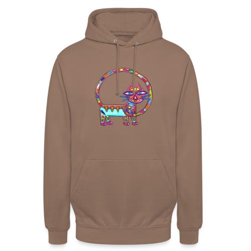 Fiboniccat - Sweat-shirt à capuche unisexe