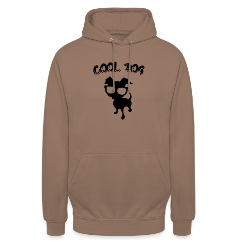 COOL DOG - 2 - Felpa con cappuccio unisex