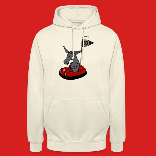 Autoscooter Esel - Unisex Hoodie