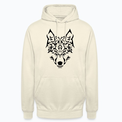 Tribal Wolf - Sweat-shirt à capuche unisexe