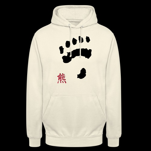 tatze_kuma + Kanji - Unisex Hoodie