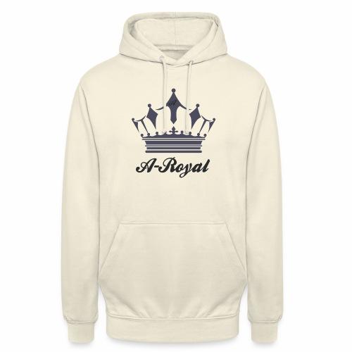 A-Royal - Felpa con cappuccio unisex