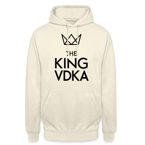 The King VDKA Logo schwarz RGB - Unisex Hoodie