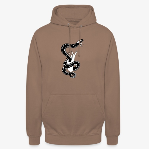 SNAKE - Sweat-shirt à capuche unisexe