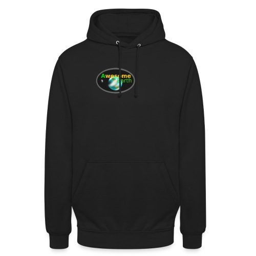 awesome earth - Unisex Hoodie