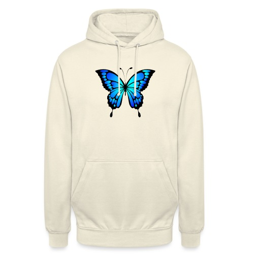 Mariposa - Sudadera con capucha unisex
