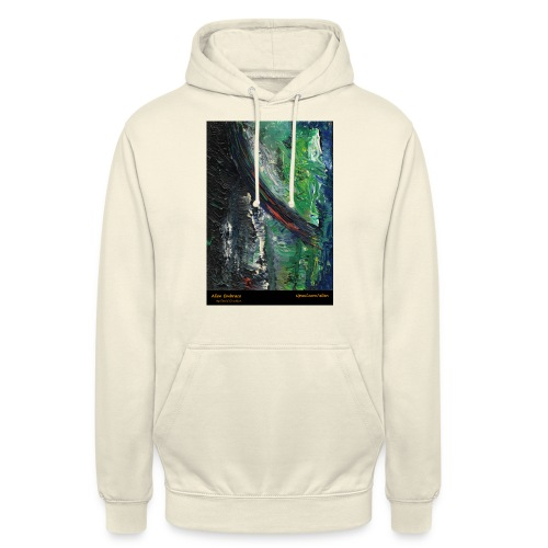aliens-shirt-with-text - Unisex Hoodie