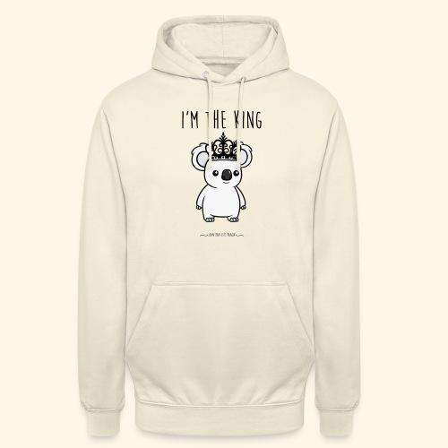 Koala king - Sweat-shirt à capuche unisexe