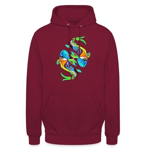 Regenbogenfische - Unisex Hoodie