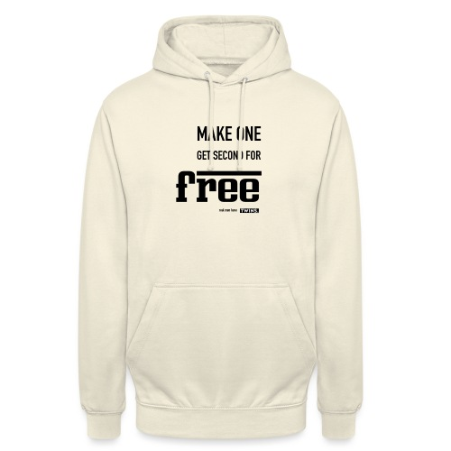 TWINS. make one get second for free - Unisex Hoodie