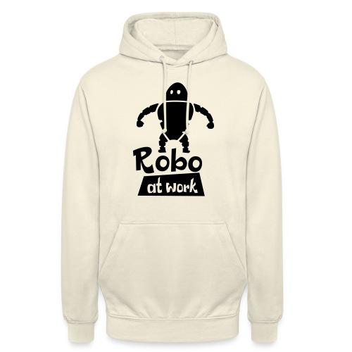 robot at work - Unisex Hoodie