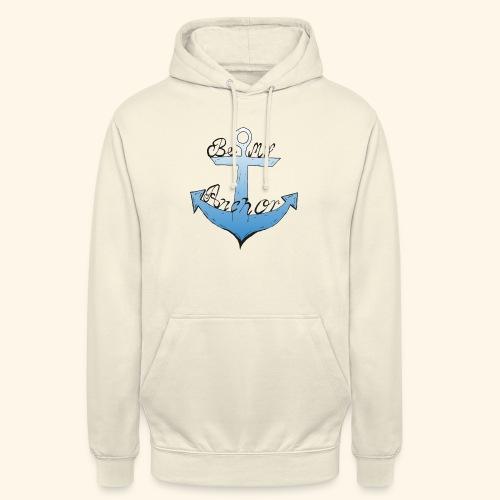 Be my anchor weiß Herren - Unisex Hoodie