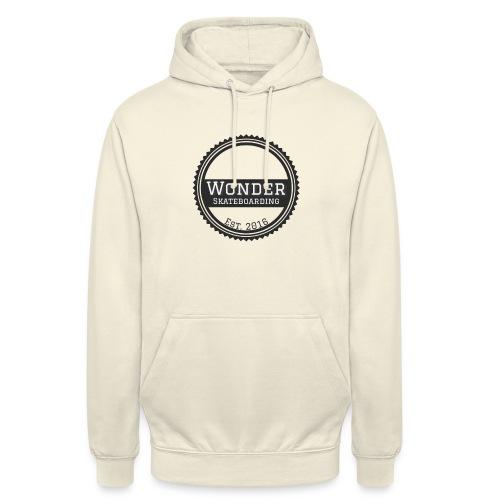 Wonder unisex-shirt round logo - Hættetrøje unisex