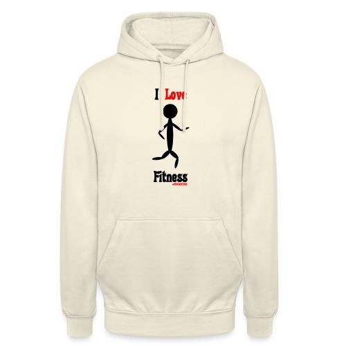 Fitness #FRASIMTIME - Felpa con cappuccio unisex
