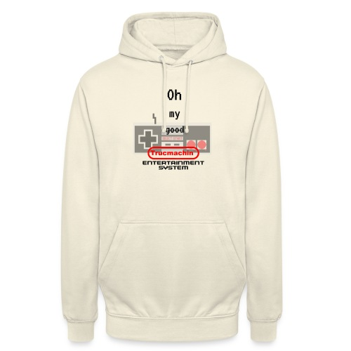 oh my good nes - Sweat-shirt à capuche unisexe