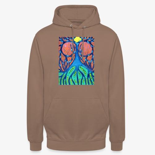 Drapieżne Drzewo - Bluza z kapturem typu unisex