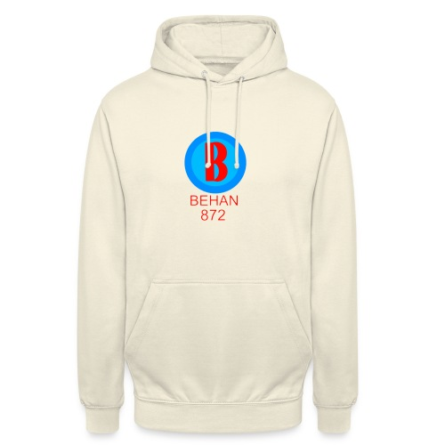 Rep that Behan 872 logo guys peace - Unisex Hoodie