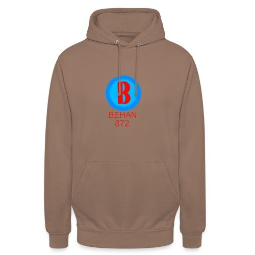 Rep that Behan 872 logo guys peace - Unisex Hoodie