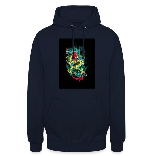 Aztec Quetzalcoatl - Luvtröja unisex