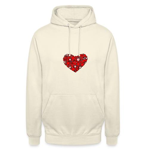 Hjertebarn - Hættetrøje unisex