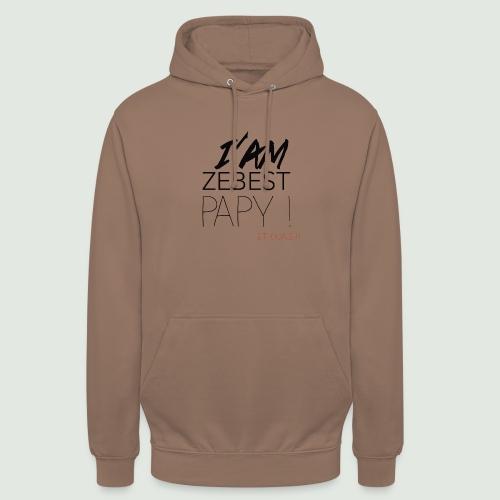 iamezbestpapy - Sweat-shirt à capuche unisexe
