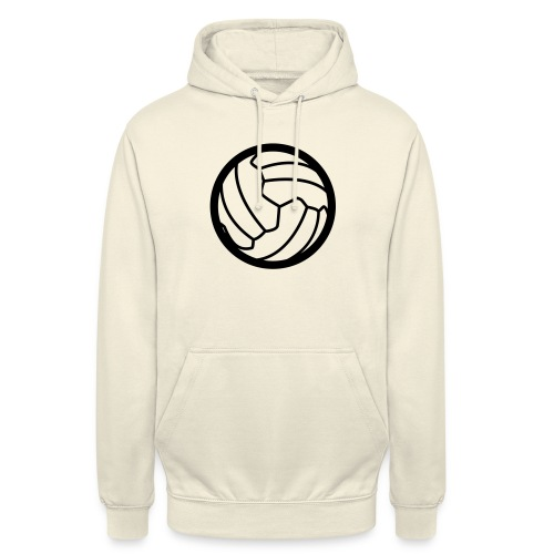 I <3 football! - Sweat-shirt à capuche unisexe