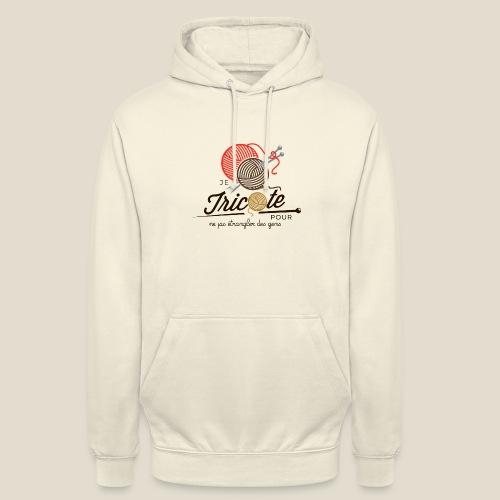 Tricot - Sweat-shirt à capuche unisexe