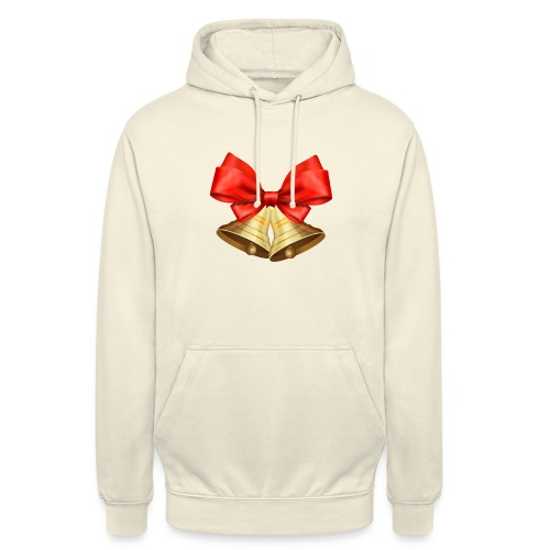 Pngtree christmas bell 3715872 - Sudadera con capucha unisex