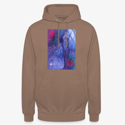 Forest Flower - Bluza z kapturem typu unisex