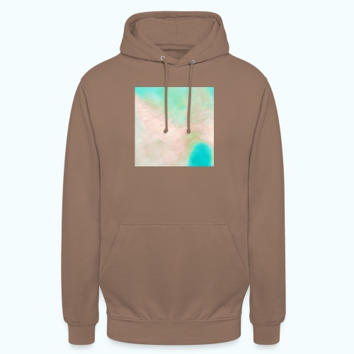 Atoll beach watercolor beige nature - Unisex Hoodie