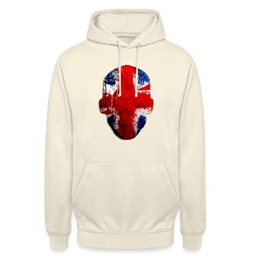Borg recordings uk Union flag MetaSkull T Shirt - Unisex Hoodie