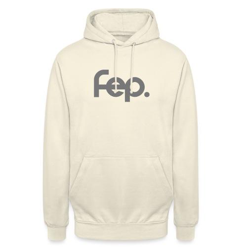 FEP logo gray - Unisex Hoodie