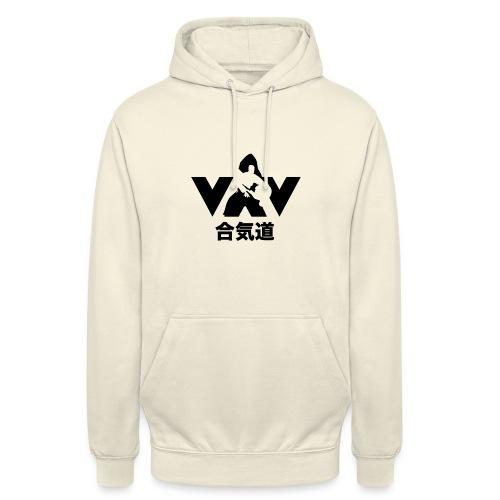 aikido zwart - Hoodie unisex