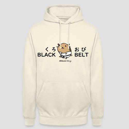 Zwarte gordel hamster - Hoodie unisex
