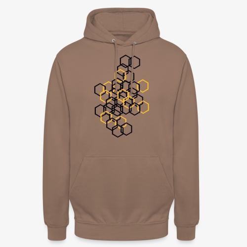 Hexagon Muster - Unisex Hoodie