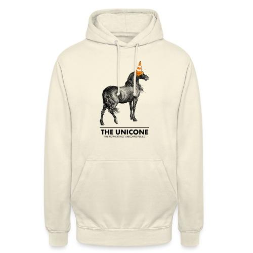 Unicone - Sweat-shirt à capuche unisexe