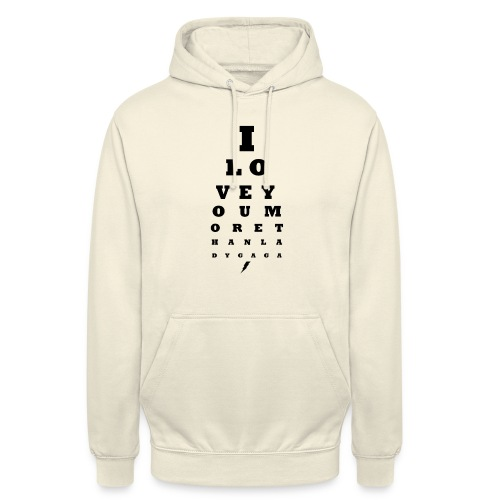 GoGo for GAGA - I love you more than Lady G... - Unisex Hoodie