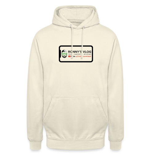 iPhone X by Ronny's Vlog - Unisex Hoodie
