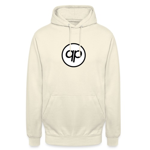 Logo EQP Noir - Sweat-shirt à capuche unisexe