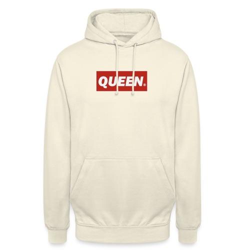 Reina rey - Sudadera con capucha unisex