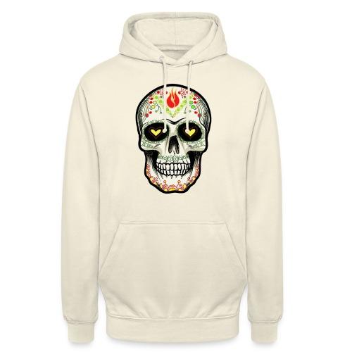 TETE DE MORT 1 - Sweat-shirt à capuche unisexe