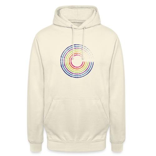 Rainbow Circle - Bluza z kapturem typu unisex