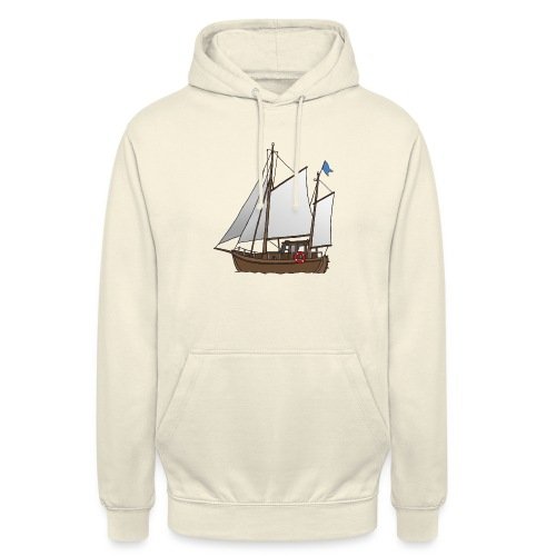 Segelboot Kutter - Unisex Hoodie