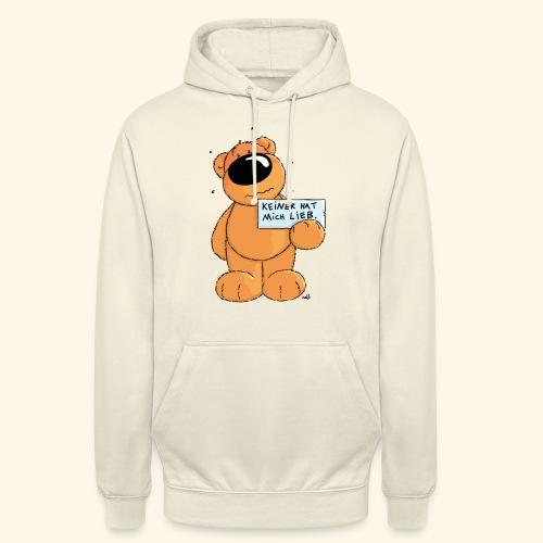 chris bears Keiner hat mich lieb - Unisex Hoodie