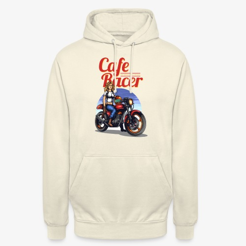 Cafe Racer - Sweat-shirt à capuche unisexe