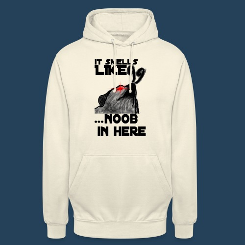 It smells like NOOB in here! - Unisex Hoodie