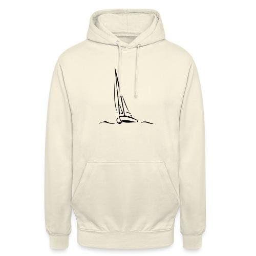 Segelboot - Unisex Hoodie