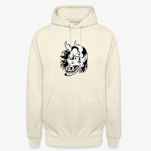 hannya - Sweat-shirt à capuche unisexe